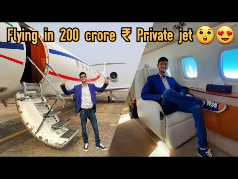 Flying in PRIVATE JET 🛩 for 1st time || Luxurious journey Mumbai to Kolkata.