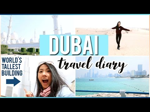 ✈️Dubai Travel Diary + VLOG 2017 | UNITED ARAB EMIRATES WORLD'S RICHEST COUNTRY?  | Katie Tracy ♡