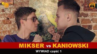 Mikser  Kaniowski  dogrywka (część 1 wywiadu)