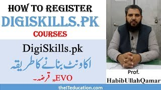 DigiSkills Registration Freelancing Online Earning Courses
