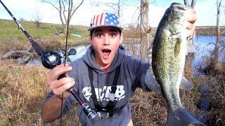 broken rod fishing challenge