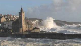 Porthleven Winter Storm Swell