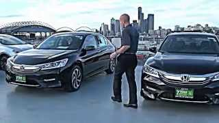 2016 Honda Accord Sport vs EX vs LX  - 3 great choices, I get to pick 1