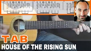 "Guitar Tab ""The House Of The Rising Sun"""