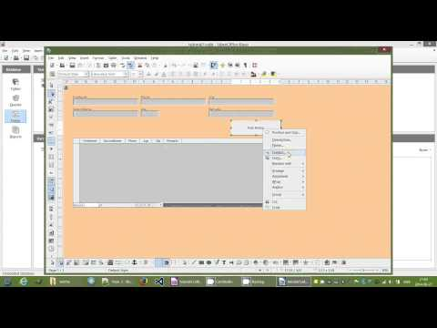 LibreOffice Base Tutorial (Making a Filter Inside a Form)