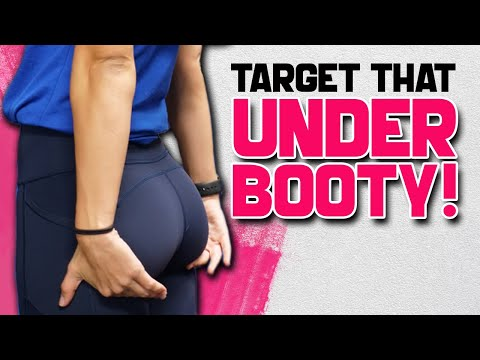 7 BEST UNDER BUTT EXERCISES �� How To Target LOWER GLUTES
