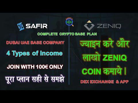 Safir International Ltd MLM Plan in Hindi 2021 | Zeniq Coin Crypto Currency Base Plan | SEARCH MLM