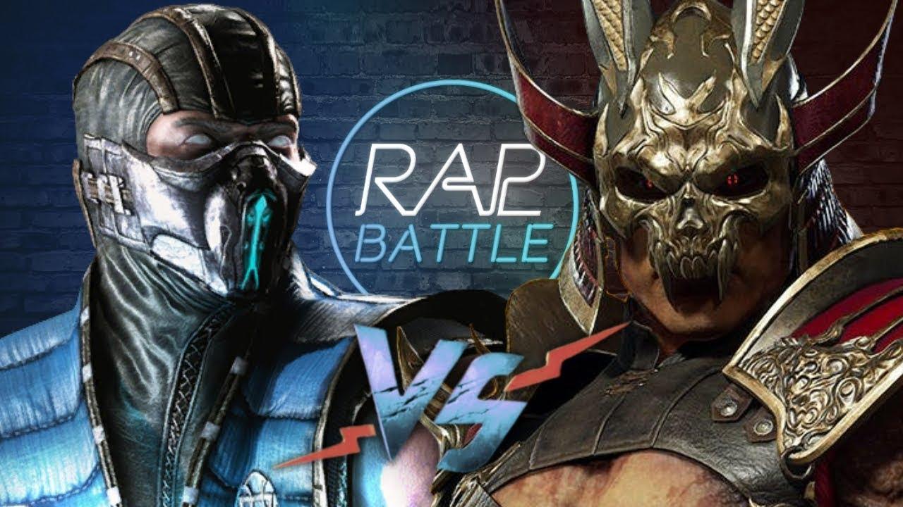 Рэп Баттл - Саб-Зиро vs. Шао Кан (Sub-Zero vs. Shao Kahn)