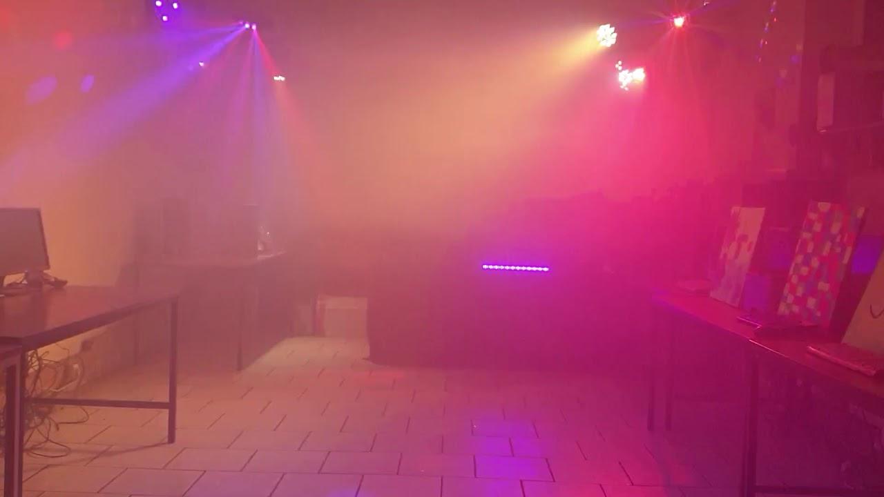 Moderne Lampen 8 : Mobile disco beleuchtung von dj wolfi mit allen lampen youtube