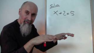 ASMR Math: How to Deal with the Equal Sign, What It Means to Solve an Equation