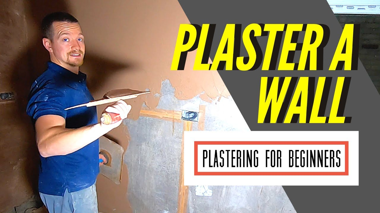 Plastering A Wall For Beginners | FULL PROCESS **(PLASTERING EXISTING WALLS/ PVA/ PREP/ ANGLE BEADS)