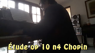 Etude op 10 n 4 Chopin played by Stefano Tacchino