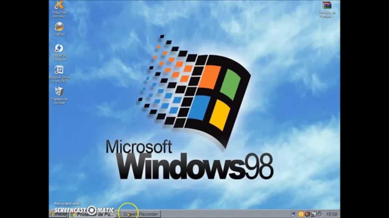 Descargar los protectores de pantalla de windows 98 youtube for Protectores de escritorio gratis