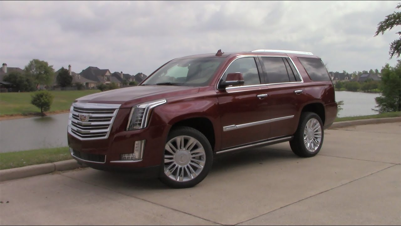 2020 Cadillac Escalade Platinum Review Walk Around And