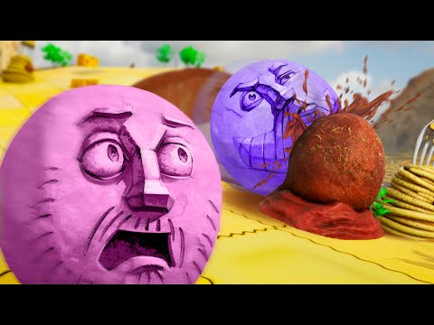 Dodge The Meatball Challenge! | Rock Of Ages 3 |