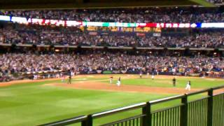 2011 NLDS Game 2 - Axford Gets The Final Out