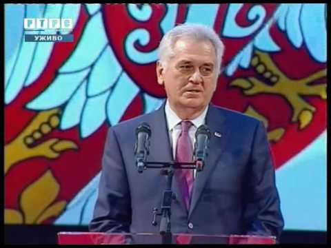 Svečana akademija povodom 9. januara - Dana Republike // Tomislav Nikolić, predsjednik Srbije
