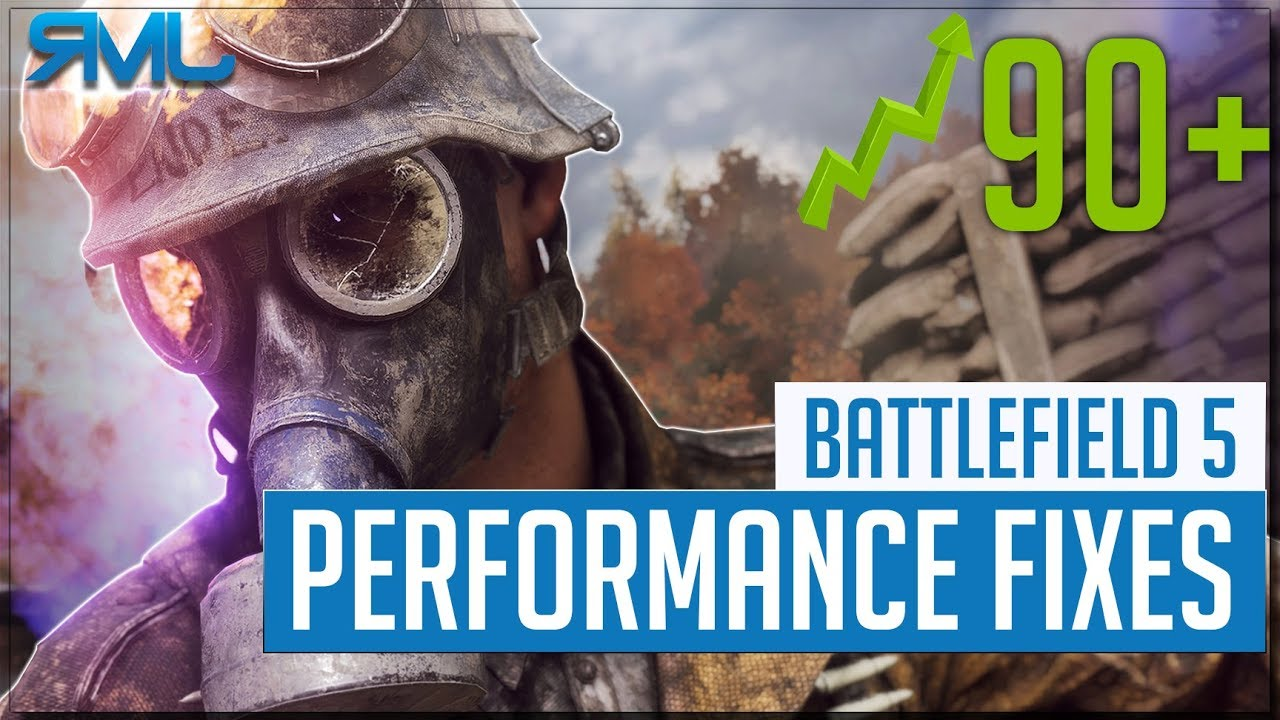 Battlefield 5 Performance Fixes - Increase your FPS - BFV Performance Tweaks
