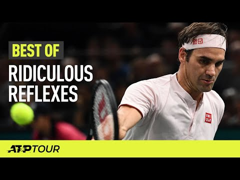 Outrageous Reflexes In Tennis | THE BEST OF | ATP