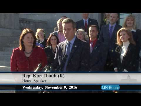 House Republican post-election media availability  11/9/16