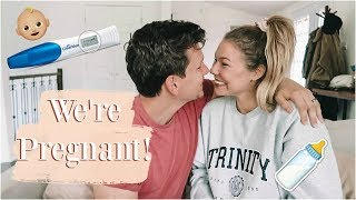 Finding Out I'm Pregnant + Surprising My Husband!
