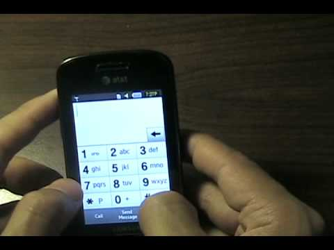 How to unlock ATT Samsung SGH-A887 cell phone