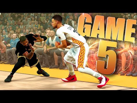 Golden State Warriors vs Cleveland Cavaliers NBA Finals Game 5 - NBA 2K17 Prediction