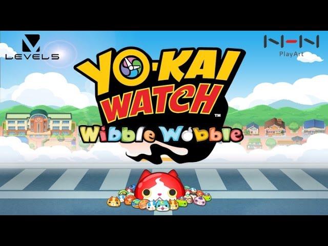 Yo Kai Watch Wibble Wobble Game Trailer Youtube