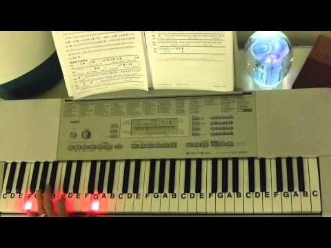 How to Play ~ Renesmee's Lullaby ~ Carter Burwell ~ LetterNotePlayer ©