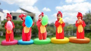 교육으로 동요와 아기의 노래를 Humpty Dumpty Song For Kids Mainan dan lagu anak-anak