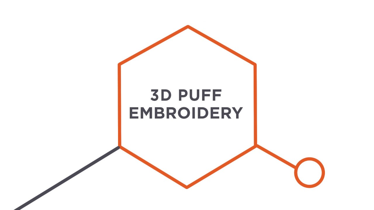 3D Puff Embroidering Capabilities | Custom 3D Embroidery Applications