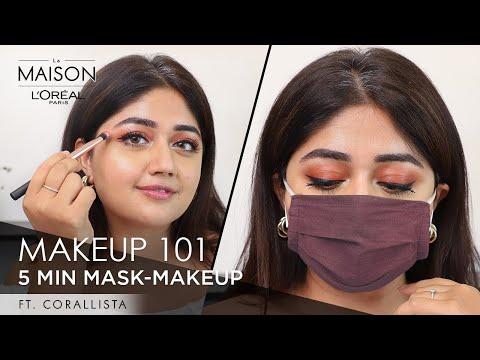 In conversation with Simmy Goraya & Corallista | Smudge-Proof Face Mask Makeup | L'Oréal Paris