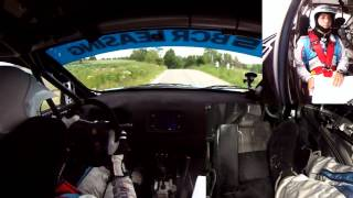 Vali Porcisteanu - Transilvania Rally 2012 - Ps6 Dangau 1 Onboard