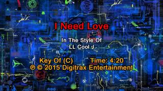 LL Cool J - I Need Love  (Backing Track)