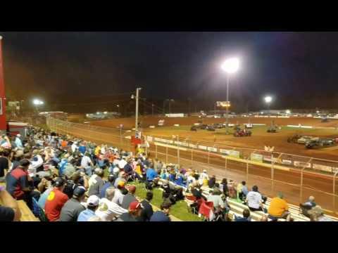 Fast 6 Sprint car Heat Race 6/1/17 Talladega short track