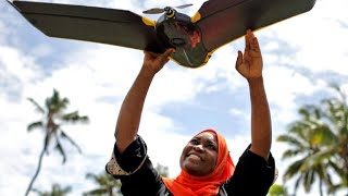 Drones used to map climate change in Zanzibar
