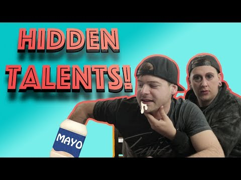 What Are Your Hidden Talents??