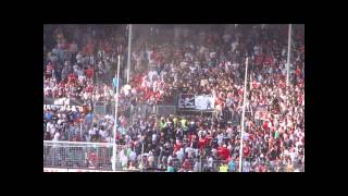 St. Pauli - Besiktas  12.07.13  Trouble on the terraces