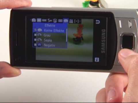 Samsung S7350 Ultra S Test Kamera