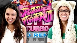 Puzzle Fighter II - Head2Head with Sexy Car Wash Punishment!