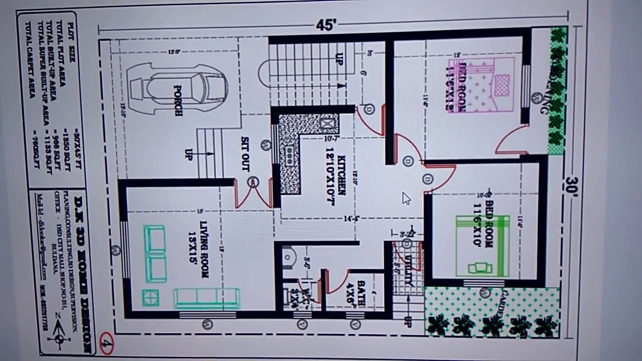 30 x 45 feet NEW HOUSE PLAN - YouTube  X House Plan And Elevation on 20x20 house plans, 40x40 house plans, 40x100 house plans, 24x36 house plans, 12x12 house plans, 20x40 house plans, 50x80 house plans, 20x30 house plans, 10x15 house plans, 25x50 house plans, 24x32 house plans, 36x36 house plans, 10x20 house plans, 30x35 house plans, 30x60 house plans, 10x30 house plans, 25x35 house plans, 40x80 house plans, 50x70 house plans, 30x40 house plans,