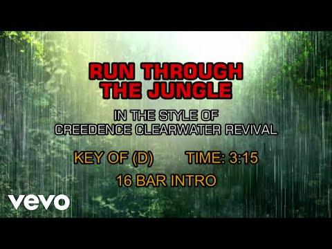 Creedence Clearwater Revival - Run Through The Jungle (Karaoke)