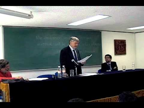 "Cátedra Gaos 2012 - ""The Mathematical Animal"" by Ian Hacking"