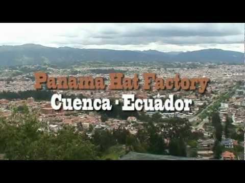 Panama Hats factory - Cuenca Ecuador