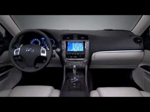 All New Lexus IS 350 2011 Interior