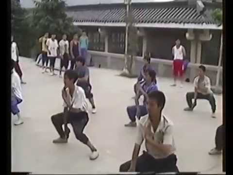 Shaolin Kung Fu images recorded by Sifu Walter Toch during his stay in China