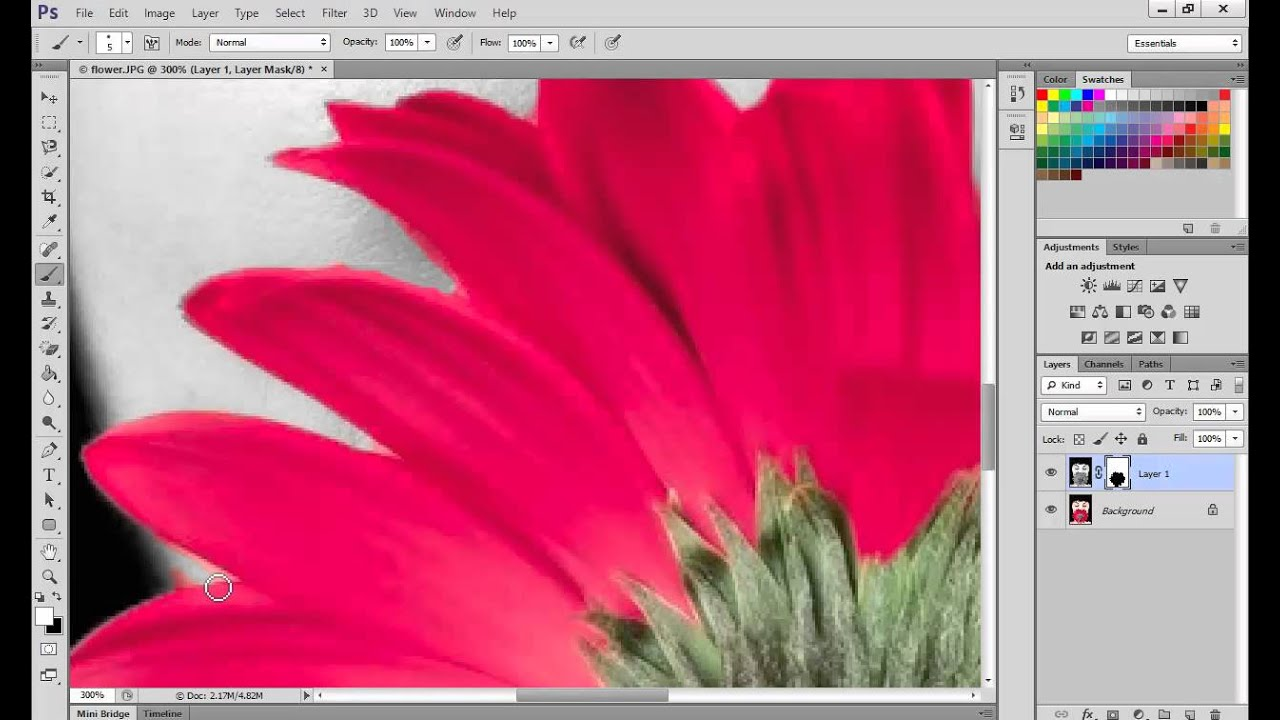 How to create the Spot Colour technique in Photoshop CS6