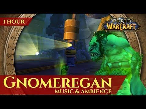 Vanilla Gnomeregan - Music & Ambience (1 hour, 4K, World of Warcraft Classic)