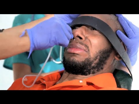 Yasiin Bey (aka Mos Def) force fed under standard Guantánamo Bay procedure