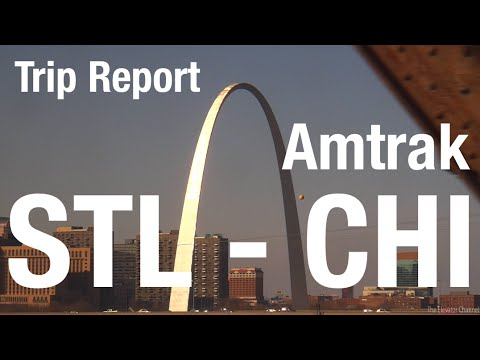 TRIP REPORT - Amtrak, St. Louis to Chicago
